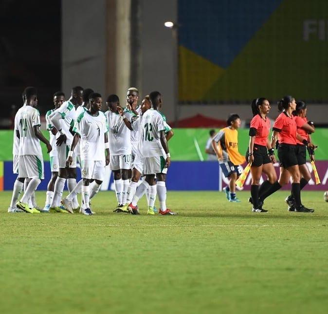 Coupe du monde U-17 : Les Lionceaux battus par le Japon, qui prend la première place du groupe D.