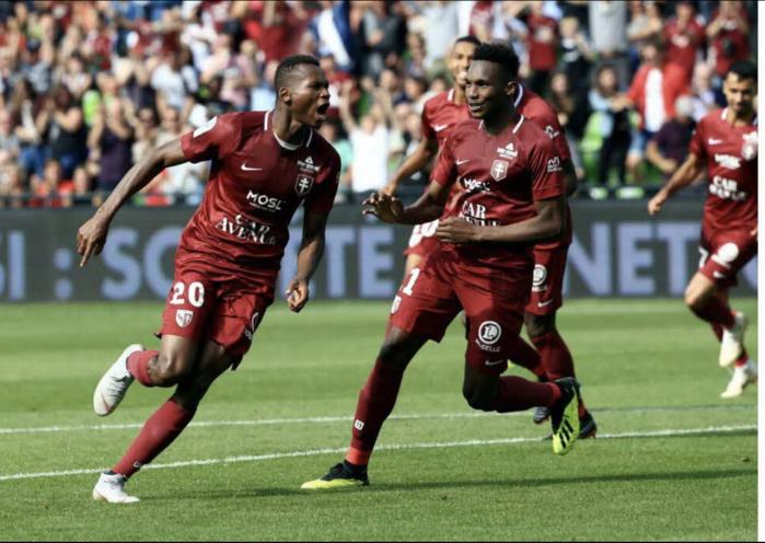 Ligue 1 : Metz tenu en échec par Montpellier (2-2), Habib Diallo et Opa Nguette butteurs.