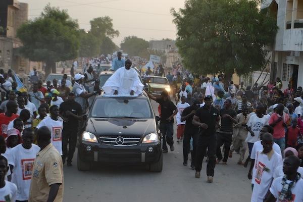 Dernière minute: Idrissa Seck défie les policiers.