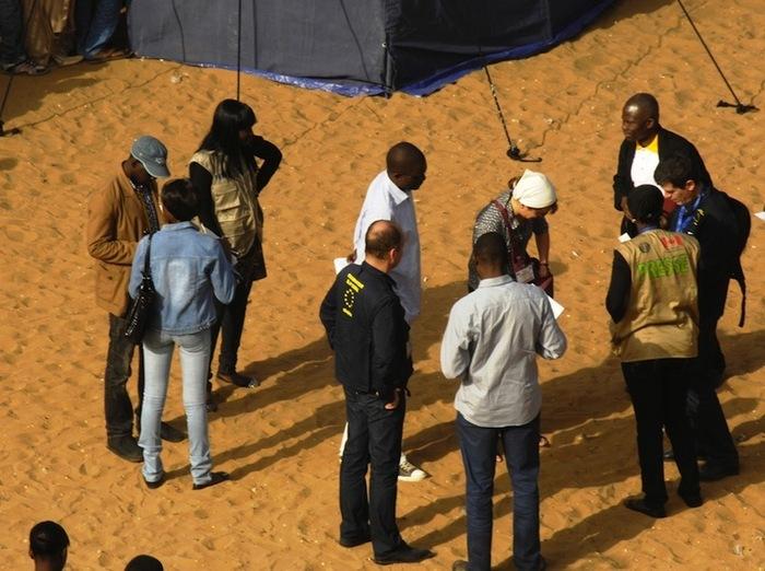 Le dispositif mis en place le jour du vote par la Mission d'observation électorale de l'Union européenne (MOE UE)