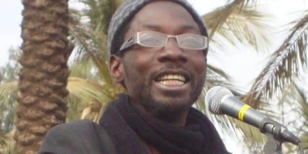 """15h25: Fadel Barro, porte-parole de """"Y en a marre"""", précise: """"Nous ne sommes responsables d'aucun acte de trouble"""""""