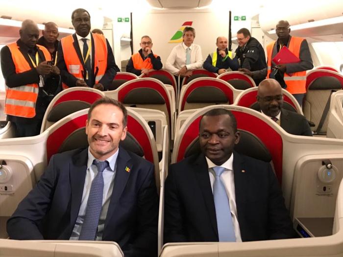 Air Sénégal SA à Toulouse pour préparer l'arrivée de son deuxième Airbus A330-900 néo