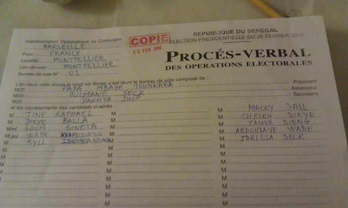 Résultats bureau de vote montpellier