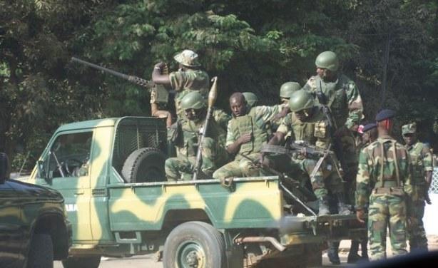 A Thionk-Essyl, des échanges de coups de feu entre rebelles et militaires.