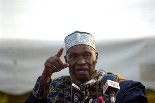 La déclaration d'Abdoulaye Wade: un moment d'histoire.