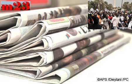 La revue de presse de l'APS: les journaux reviennent sur la déclaration d'hier de Wade