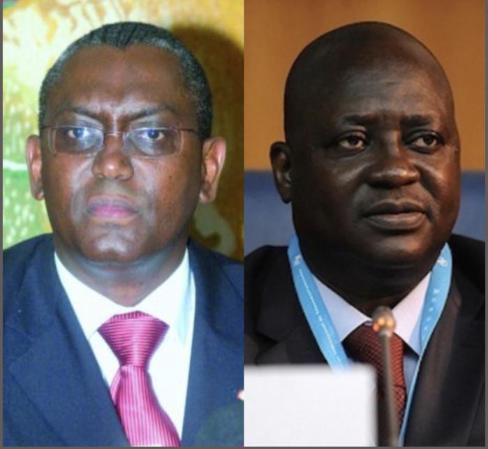 Procès : Les ex-DG de l'Artp Ndongo Diao et Daniel Goumalo Seck devant la chambre de discipline et financière de la Cour des comptes, ce jeudi.