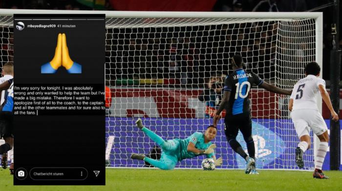 Mbaye Diagne après avoir raté un pénalty tiré au forcing : «J'ai fait une grosse erreur!»