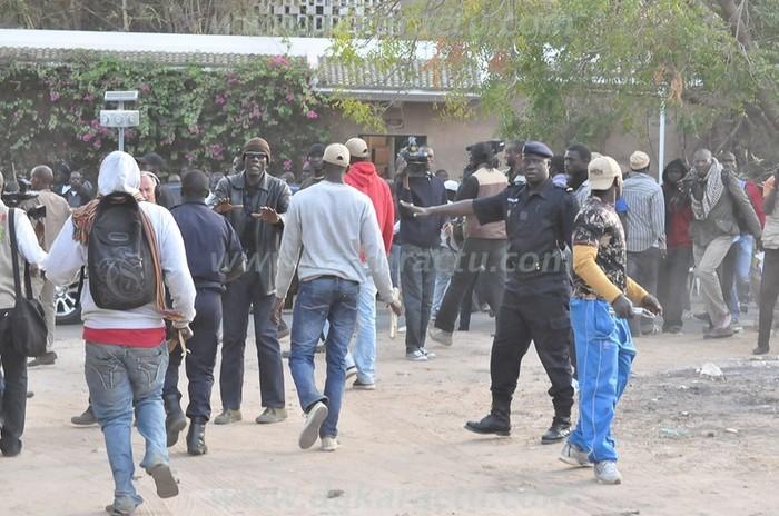 Face-à-face de la sécurité de Macky Sall avec les nervis
