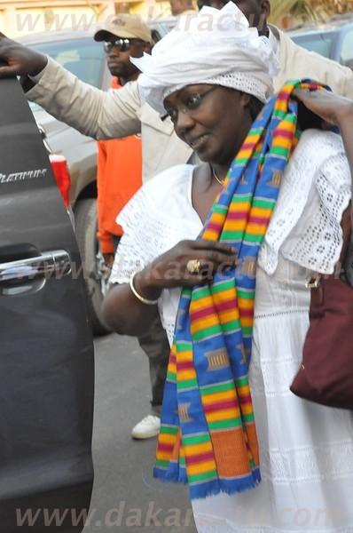 Aminata Tall était aux côtés de Macky Sall dans cette course aux obstacles