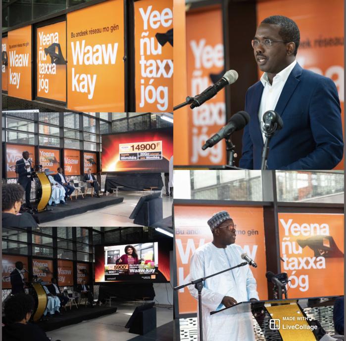 ACTE 5 DE LA REVOLUTION NUMERIQUE : Avec la 4G+ dans toutes les capitales régionales, 4G dans toutes les capitales départementales, Orange offre le meilleur de l'internet partout au Sénégal.