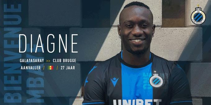 Club Bruges : Mbaye Diagne écarté du groupe, va écoper d'une forte amende