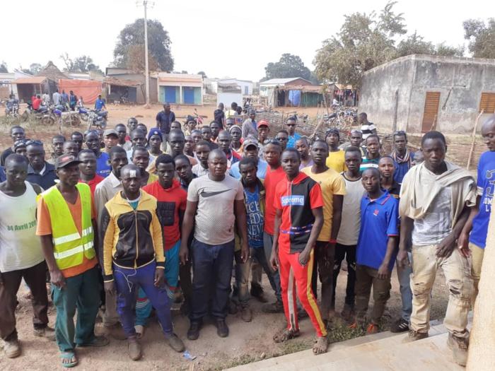 Khossanto : Grève des travailleurs à la  SORED MINE