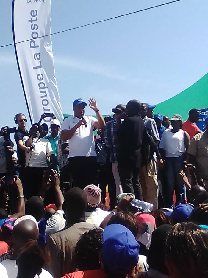 Lancement officiel de la 18e édition du tour du Sénégal à Kolda.