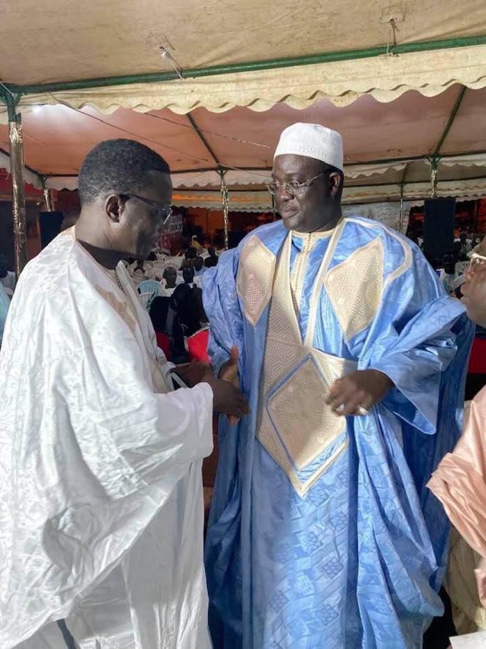 (IMAGES) GAMOU AUX PARCELLES / Cheikh Abdou perpétue le ndigël de Serigne Saliou à Sokhna Maï Bint Khadim Rassoul en présence de milliers de fidèles