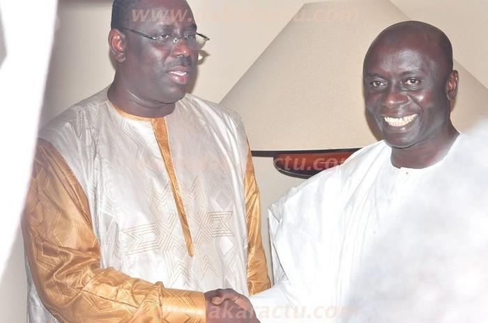Voici les photos de la rencontre entre Macky Sall et Idrissa Seck