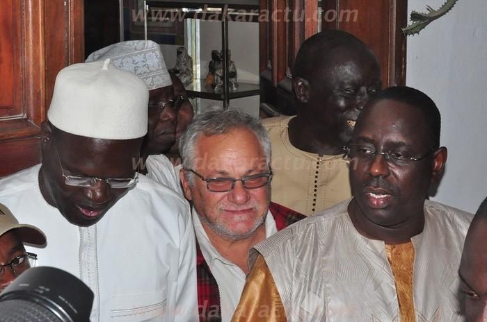 Regardez les images de la rencontre entre Macky Sall et Ousmane Tanor Dieng