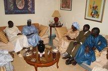 Revivez en images la rencontre entre Macky Sall et Jacques Diouf