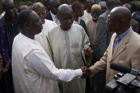 Revivez en images la rencontre entre Macky Sall et Bara Tall