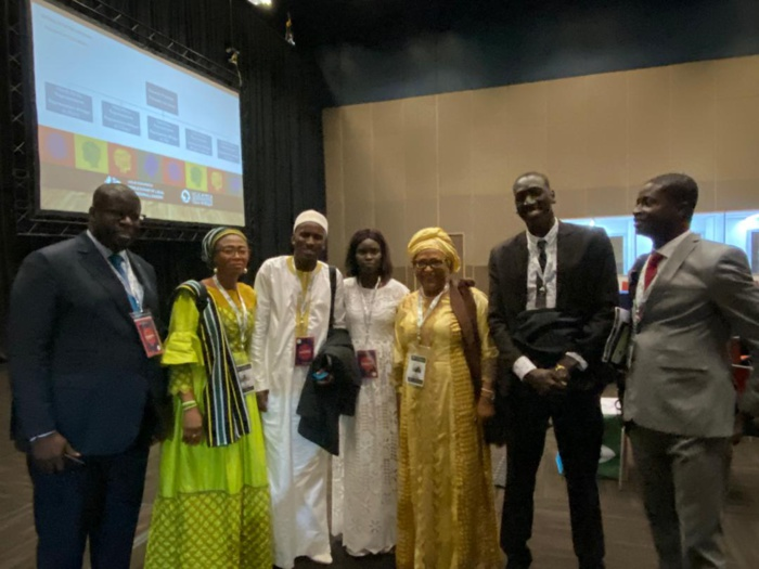 DURBAN (Afrique du Sud) : Thérèse Faye Diouf élue Présidente du Réseau des Jeunes élus d'Afrique de l'Ouest, lors du Sommet Mondial des Dirigeants locaux et régionaux (UGCL).