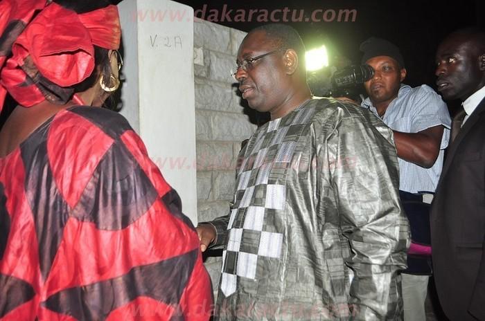 Revivez en images la rencontre entre Macky Sall et Amsatou Sow Sidibé