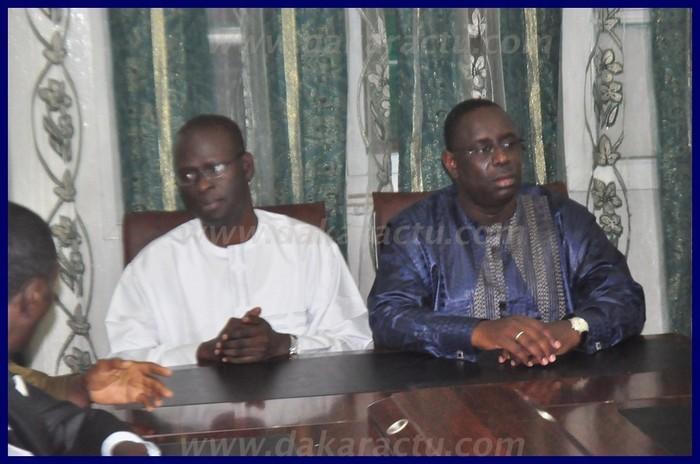 Revivez en images la rencontre entre Macky Sall et Cheikh Bamba Dieye