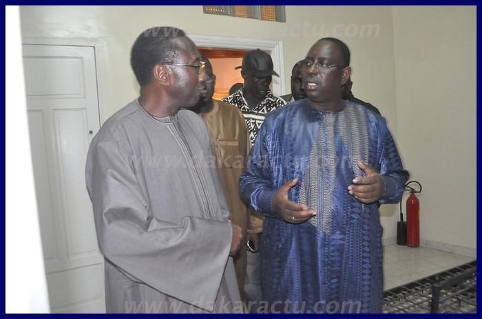 Regardez les images de la rencontre entre Macky Sall et Doudou Ndoye
