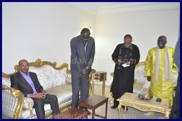 Revivez en images la rencontre entre Macky Sall et Ibrahima Fall