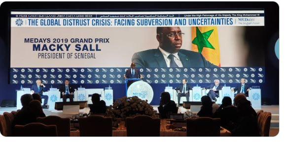 Macky Sall au forum « Medays » : « Chaque année, entre 40 et 80 milliards de dollars de taxes échappent à l'Afrique »