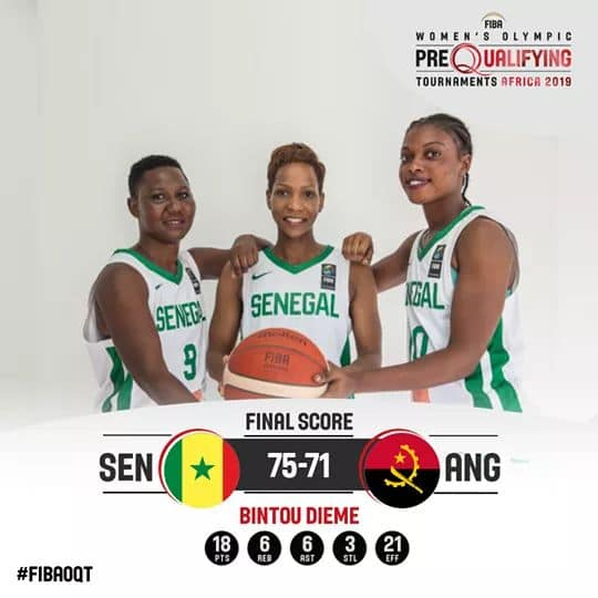 Basket féminin / TQO 2019 : Les « Lionnes » s'imposent in extremis 75 à 71 contre l'Angola