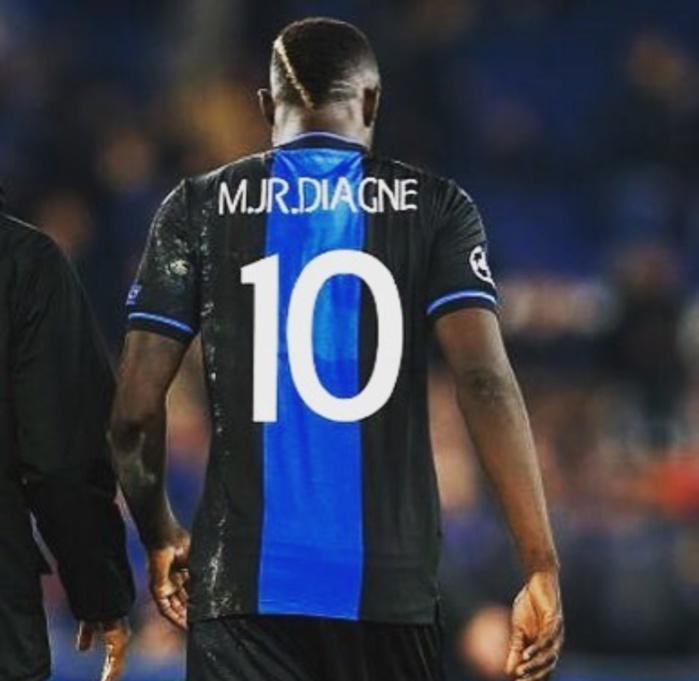 """Bruges : Mbaye Diagne accablé par les critiques depuis le """"Penaltygate"""", réagit sur Instagram"""