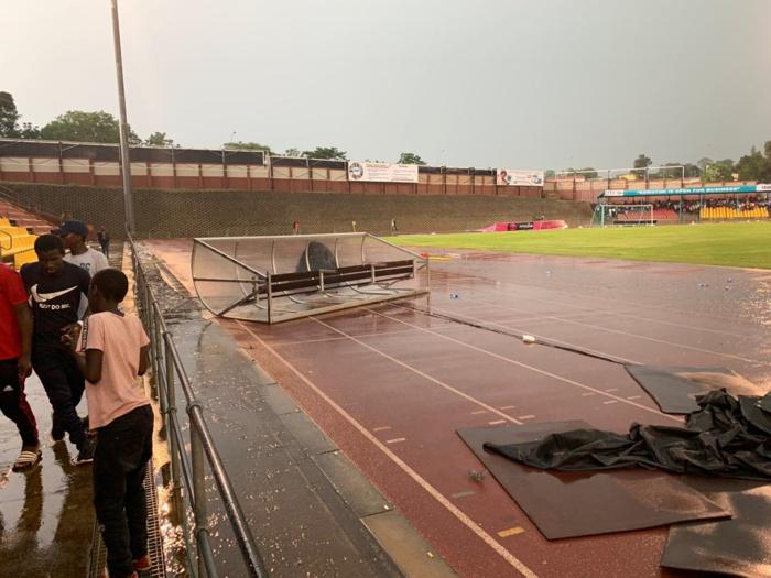 Urgent!!! eSwatini – Sénégal suspendu par l'arbitre pour cause d'intempérie...
