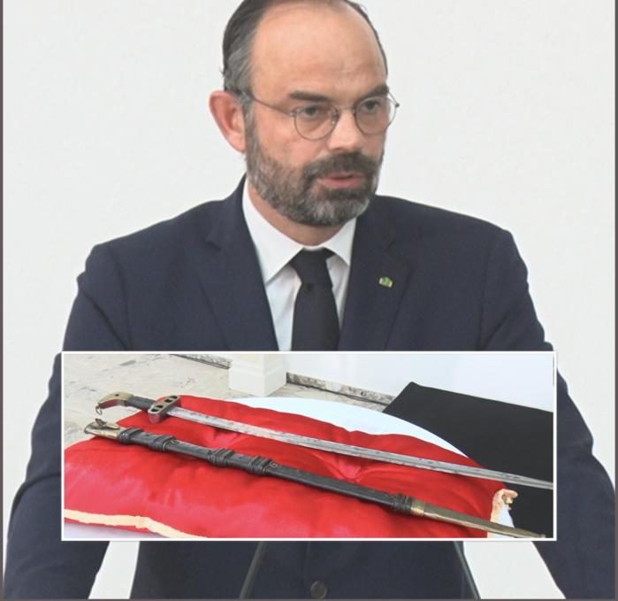Edouard Philippe, Premier ministre français : « La place du sabre d'El Hadj Oumar Tall, c'est ici »