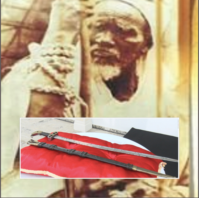 La France restitue au Sénégal le sabre de Cheikh Omar Foutiyou Tall : Les caractéristiques de l'arme de l'Aigle d'Alwar.