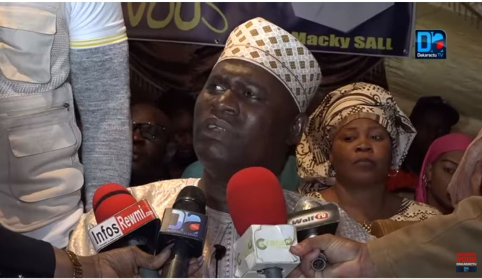Plénière LFR : Pour Ousmane Faye de MWS,  Sonko a été humilié par le Ministre Abdoulaye Daouda Diallo