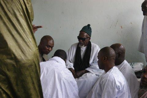 Regardez les images de l'entrevue entre Macky Sall et le khalife général des mourides