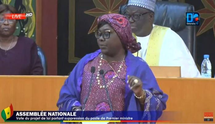 Sokhna Dieng Mbacké au ministre de l'Intérieur : « comment Famara Ibrahima Sagna qui n'a pas été installé peut être à l'origine de ce projet de loi de report des élections ? »