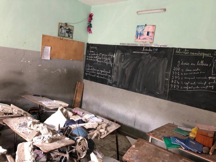 Guédiawaye : L'affaissement d'une dalle fait 13 blessés...