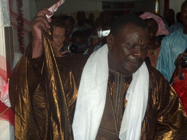 Cheikh Béthio Thioune au QG de campagne de Macky Sall !