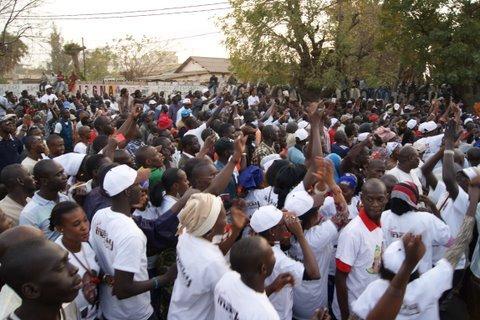 Les images de l'arrivée de Macky Sall au rassemblement d'hier du M23 à la Place de l'Obélisque