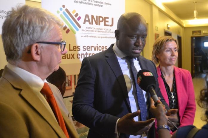 Semaine mondiale de l'entrepreneuriat : Tamsir Faye plaide pour un renforcement de l'ANPEJ