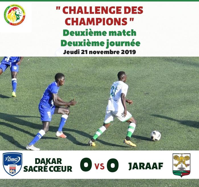 2ème journée Challenge des Champions : L'US Gorée prend le dessus sur Diambars et rejoint les demi-finales. Dakar Sacré-cœur au bord de l'élimination...
