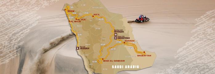 42eme Rallye-Dakar : Le départ prévu le 5 janvier en Arabie Saoudite, 351 véhicules, 170 motos et quads, 134 autos, et 47 camions attendus.