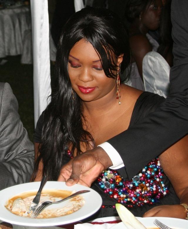 La très belle épouse de Serigne Mbacké Ndiaye en mode dessert