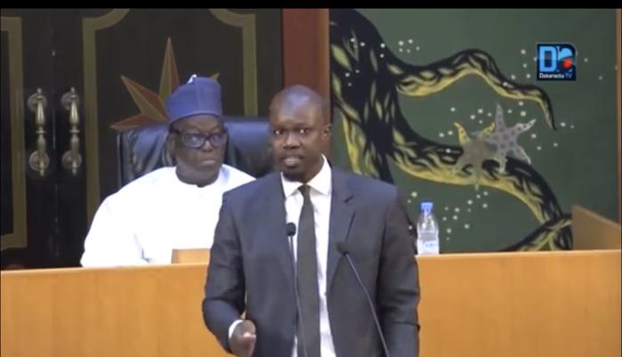 Ousmane Sonko : «Nous avons de mauvaises pratiques fiscales. L'Assemblée nationale est un lieu de non-droit budgétaire qui encourage la fraude fiscale et le blanchiment d'argent...»