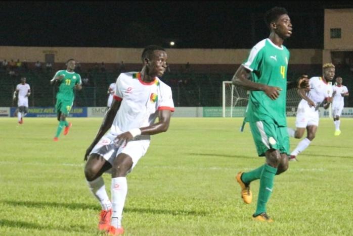 Tournoi UFOA U20 (Zone A) : Nul blanc entre le Sénégal et la Guinée (0-0)