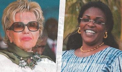 Viviane Wade / Marième Faye: portraits croisés par Jeune Afrique