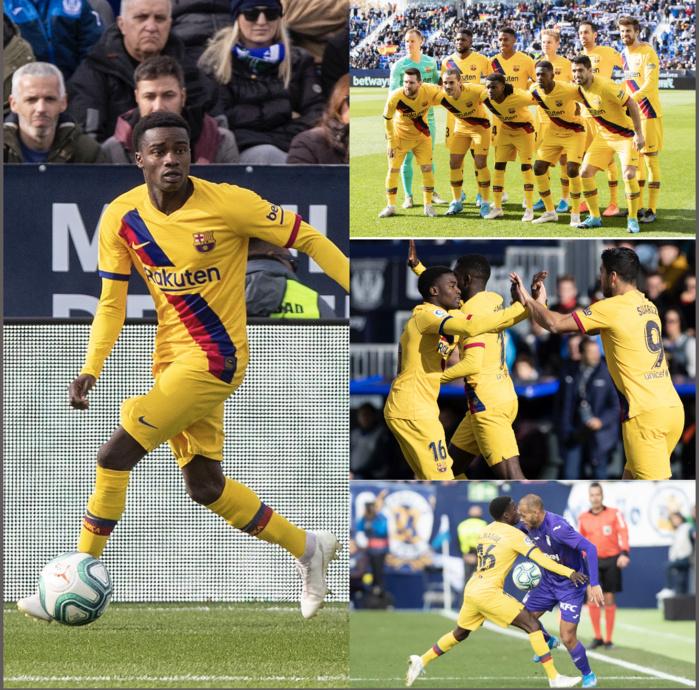 Portrait / Voici l'histoire de Moussa Wagué, de l'enfant qui jouait pieds nus au Sénégal à la titularisation avec le FC Barcelone en Liga.