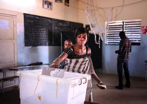 La présidentielle sénégalaise à la une de la presse britannique.