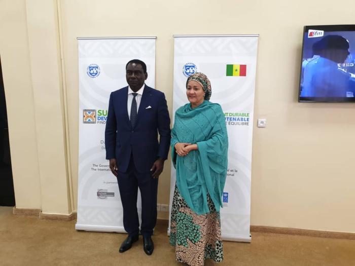 Conférence sur la dette et le développement durable : La Vice Secrétaire générale des Nations Unies à Dakar.